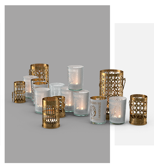 FF Decor Hire - Night Light Holders